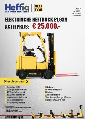 Elektrische heftruck E1.6