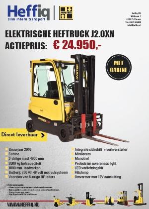 Elektrische heftruck J2.0XN |cabine