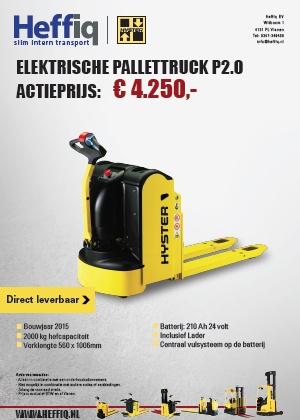 Hyster Elektrische Pallettruck P2.0