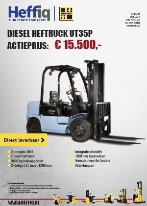 Utilev Diesel heftruck UT35